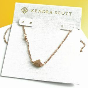 Kendra Scott Rose Gold Laureen Pendant Necklace